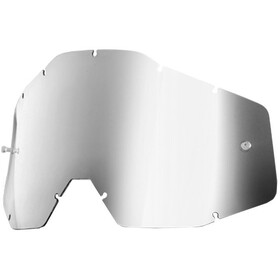 100% Replacement Lentes, silver / mirror